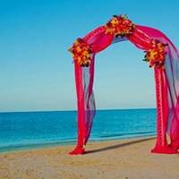 Ceremony, Flowers & Decor, Beach, Beach Wedding Flowers & Decor, Sandals, All about honeymoons