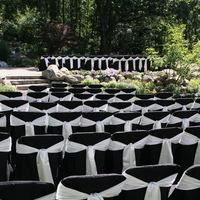 Ceremony, Flowers & Decor, white, black, Tables & Seating, Chairs