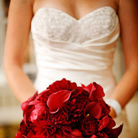 Flowers & Decor, red, Bride Bouquets, Flowers, Bouquet, Calla, Rose, Lily, Dahlia, Studio diana