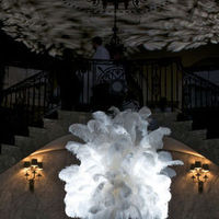Beauty, Flowers & Decor, Feathers, Centerpieces, Flowers, Centerpiece, Glamorous occasions