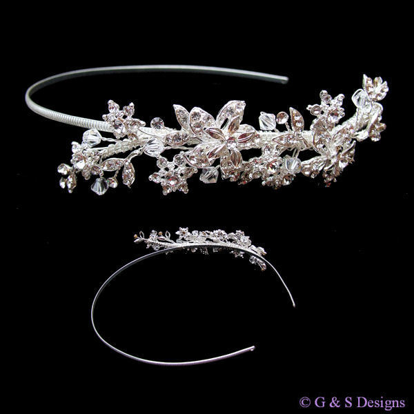 Beauty, Jewelry, Tiaras, Hair, Detail, Tiara, Side, Glamourous gowns, Asymmetric, Accessorie, Aliceband