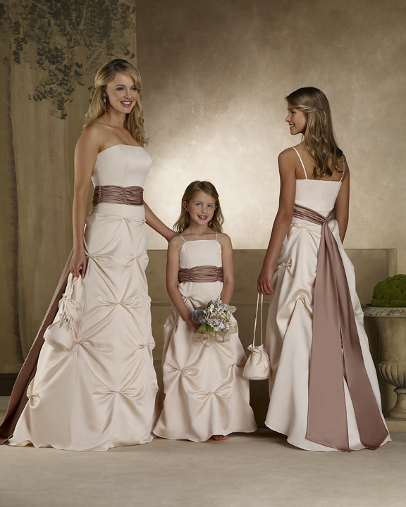 Forever yours full length bridesmaids dress 78101 125 at for Forever yours wedding dress