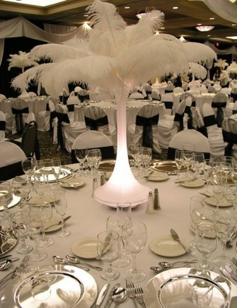 Reception, Flowers & Decor, Centerpieces, Flowers, Centerpiece, Glamorous occasions