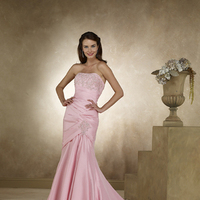 Wedding Dresses, Fashion, pink, dress, Wedding, Fish, Color, Tail, Taffeta, Colour, Glamourous gowns, Fitted, Glamourous, taffeta wedding dresses
