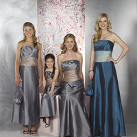 Flowers & Decor, Bridesmaids, Bridesmaids Dresses, Fashion, silver, Platinum, Flower, Girl, Teal, Dresses, Floor, Length, Forever, Taffeta, Yours, Uk, Glamourous gowns, Teen, taffeta wedding dresses, Floor Wedding Dresses