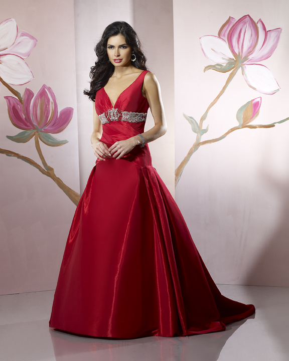 Wedding Dresses, Fashion, red, dress, Wedding, Colorful, Forever, Taffeta, Yours, Glamourous gowns, Fishtail, Colourful, taffeta wedding dresses