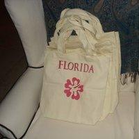 DIY, pink, Hibiscus, Oot bags