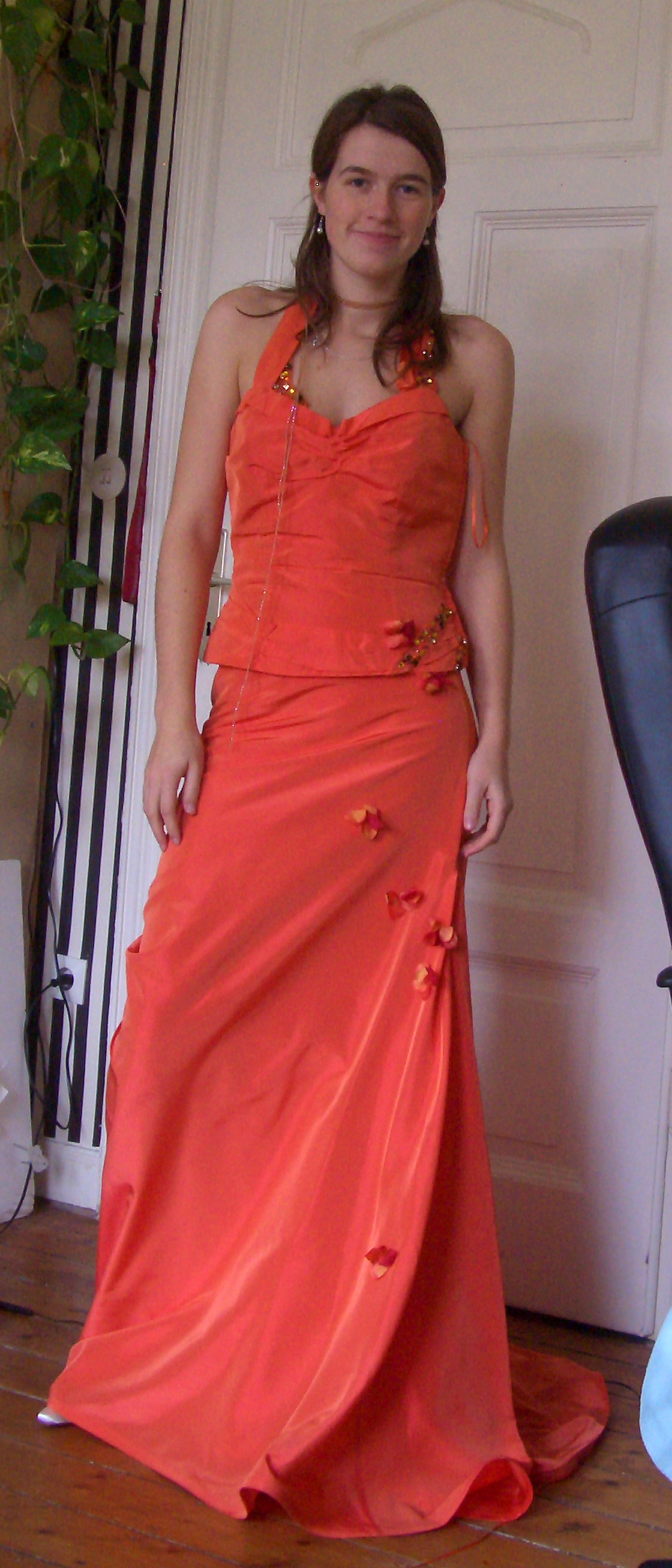 Wedding Dresses, Fashion, orange, dress, Styling, Rembo