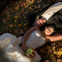 Fall, Bride, Groom, Color, Leaves, Pavel studios photography