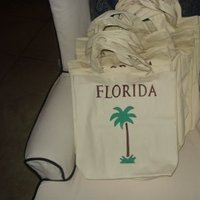 DIY, Florida, Palm trees, Oot bags