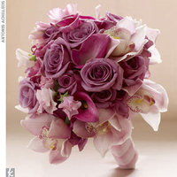 Flowers & Decor, Bridesmaids, Bridesmaids Dresses, Fashion, pink, purple, Bridesmaid Bouquets, Flowers, Flower Wedding Dresses