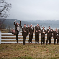 Groomsmen, Groom, Jump, Joy, Pavel studios photography