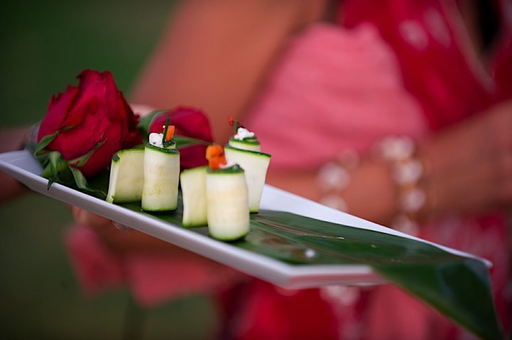 Destinations, red, Hawaii, Wedding, Tropical, Maui, Appetizers