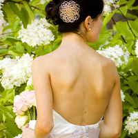 Beauty, Flowers & Decor, Wedding Dresses, Veils, Fashion, pink, dress, Chignon, Flowers, Veil, Wedding, Hair, Jennifer finch photography, Flower Wedding Dresses
