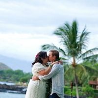 Destinations, red, Hawaii, Wedding, Tropical, Maui