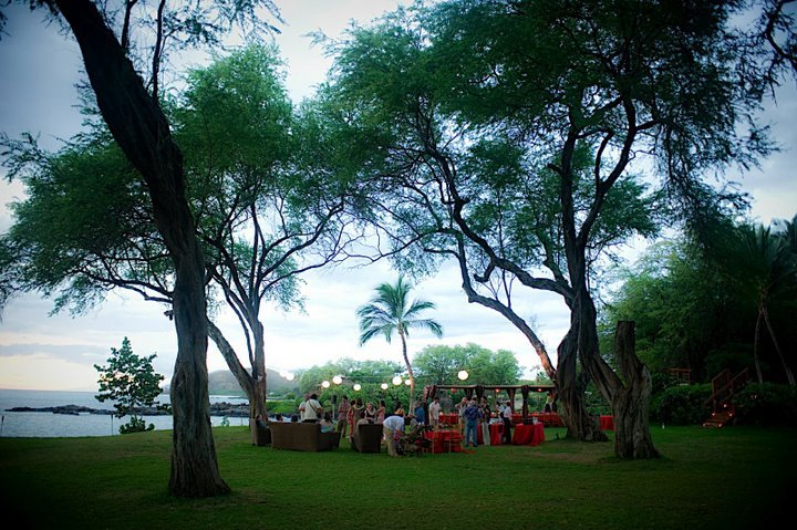Ceremony, Flowers & Decor, Destinations, red, Hawaii, Wedding, Tropical, Maui