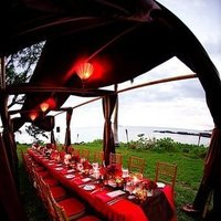 Destinations, red, Hawaii, Wedding, Tropical, Maui, Lantern, Canopy