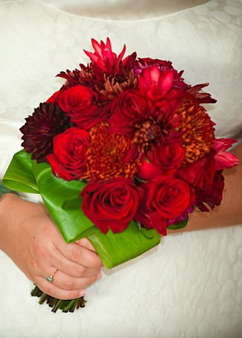 Destinations, red, Hawaii, Bouquet, Wedding, Tropical, Maui
