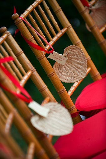Flowers & Decor, Decor, Destinations, red, Hawaii, Wedding, Tropical, Maui, Seating