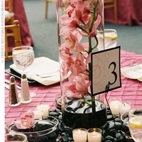 Reception, Flowers & Decor, pink, Centerpieces