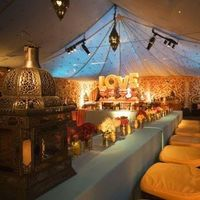 Reception, Flowers & Decor, Destinations, yellow, Asia, Wedding, Colorful, Tent, Indian, India, Beatles