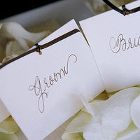 Stationery, white, black, Place Cards, City, Wedding, Placecards, Formal, Sarah hamlish