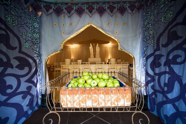 Reception, Flowers & Decor, Destinations, yellow, Asia, Wedding, Colorful, Draping, Tent, Indian, India, Beatles