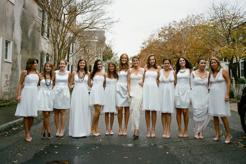 Bridesmaids, Bridesmaids Dresses, Fashion, white