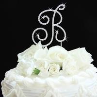 Cakes, cake, Monogrammed Wedding Cakes, Monogram, Topper, B, Letter