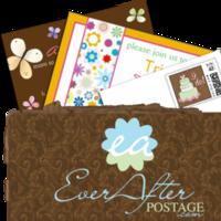 Stationery, Invitations, Stamps, Envelopes, Postage, Wedding stamps, Wedding postage, Ever after postage