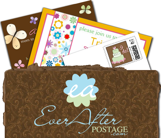 Stationery, Invitations, Stamps, Envelopes, Postage, Wedding stamps, Wedding postage, Ever after postage