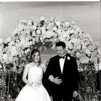 Ceremony, Flowers & Decor, white, blue, Wedding, California, Ritz carlton, San, Francisco, San francisco