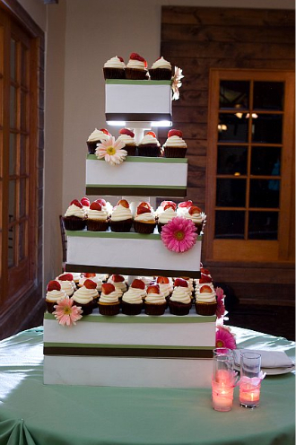 Reception, Flowers & Decor, Decor, pink, green, Garden, Cupcakes, Food, Wedding, California, Malibu