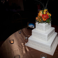 Cakes, orange, brown, cake, Rustic, Wedding, Spanish