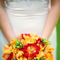 Flowers & Decor, yellow, orange, Bride Bouquets, Rustic, Flowers, Bouquet, Wedding, Spanish