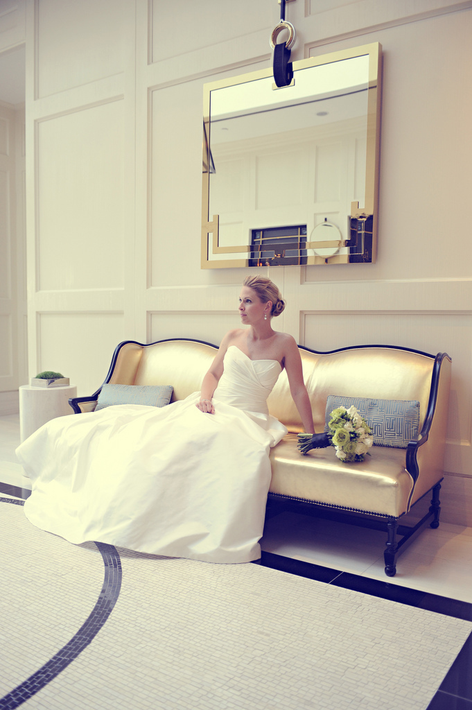 white, Wedding, Bride, black, And, Damask, Seinfeld, West hollywood, London hotel