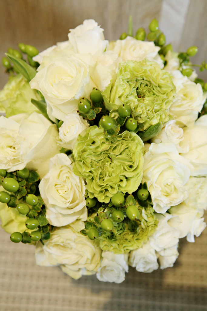 Flowers & Decor, white, black, Bride Bouquets, Flowers, Roses, Bouquet, Wedding, And, Damask, Seinfeld