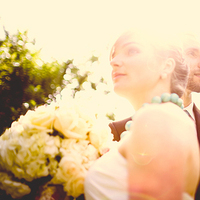 Bride, Groom, Outside, Sunny, Jelani memory photography