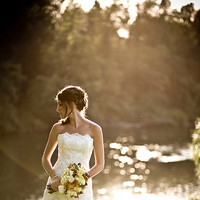Bride, Sunset, Meadow, Jelani memory photography
