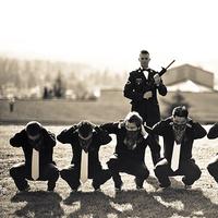 Groomsmen, Groom, Jelani memory photography, Army, Millitary, Gun