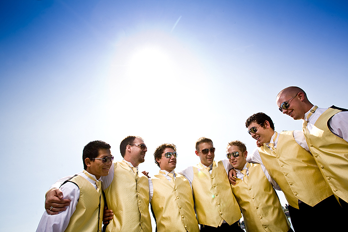 Groomsmen, Happy, Seattle, Outside, Sunny, Jelani memory photography