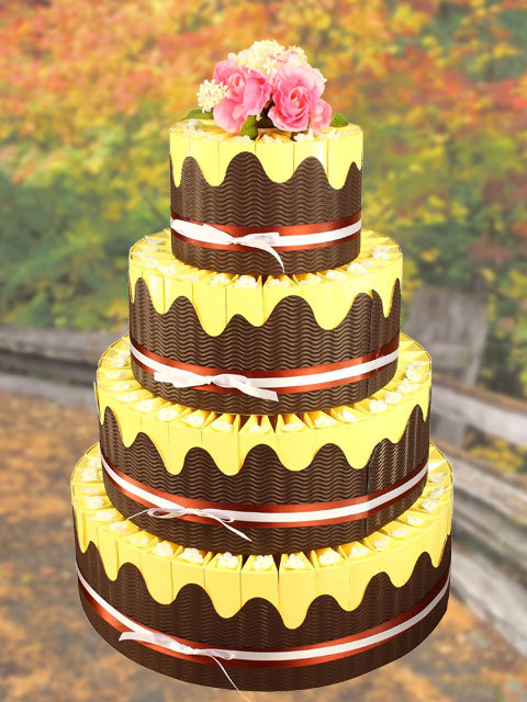 Favors & Gifts, Cakes, cake, Favors, Centerpiece, Country, Weddingolala