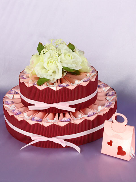 Favors & Gifts, Cakes, pink, cake, favor, Centerpiece, Weddingolala