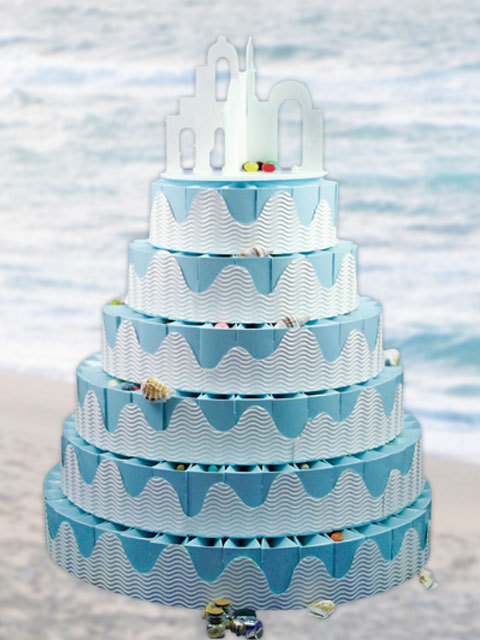 Favors & Gifts, Cakes, cake, favor, Beach, Beach Wedding Favors & Gifts, Centerpiece, Weddingolala