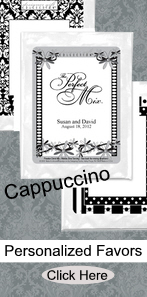 Favors & Gifts, Favors, Wedding, Personalized, Accent the party, Cappuccino