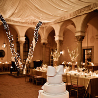 Reception, Flowers & Decor, Cakes, white, gold, cake, Roses, Candle, Cream, Candels, Simply natural events