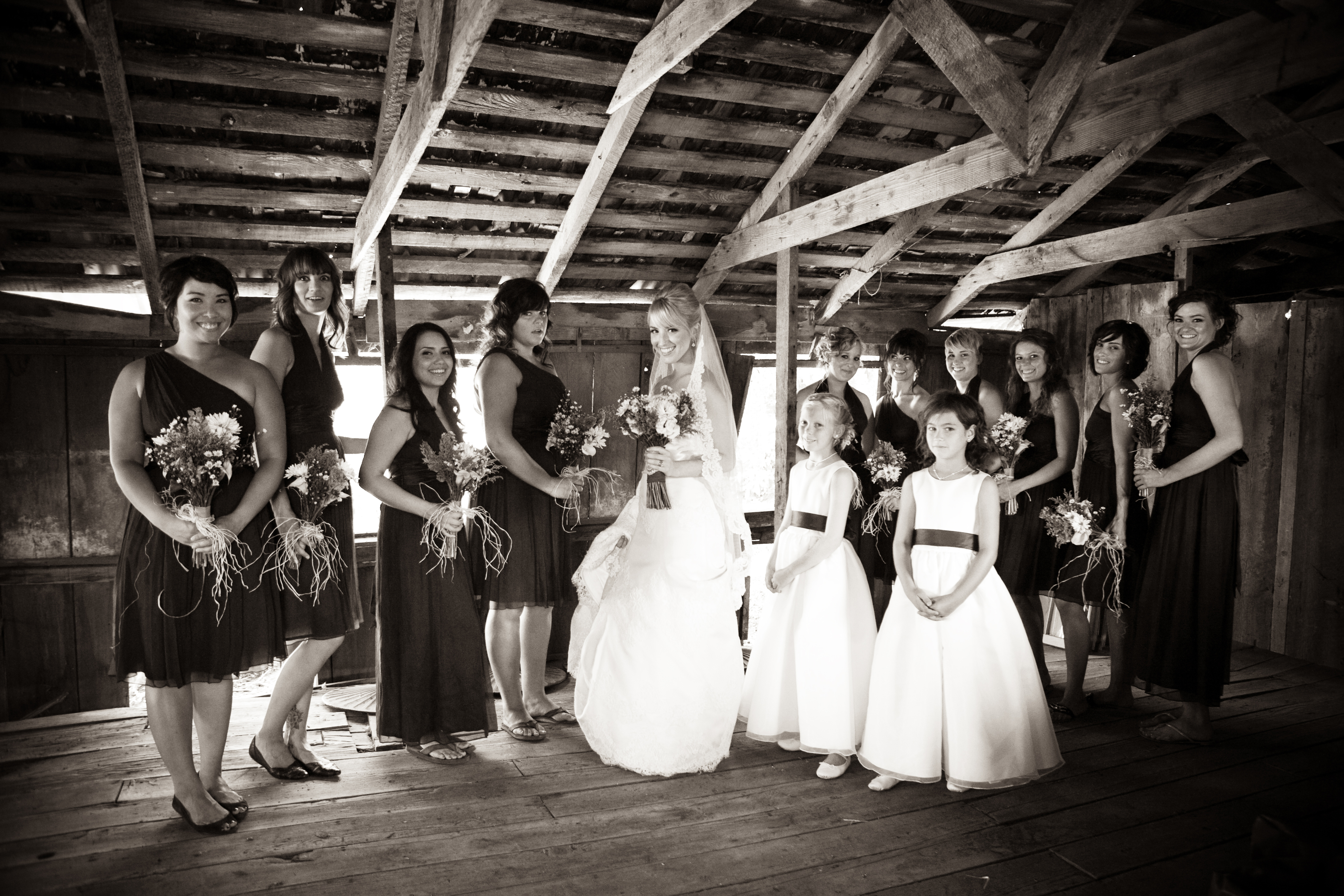 Reception, Flowers & Decor, Barn, Jesi haack weddings