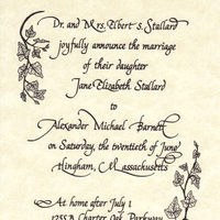 Calligraphy, Stationery, Announcements, Wedding, Announcement, Radiant reflections studio calligraphy
