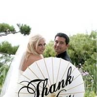 Reception, Flowers & Decor, Parasol, I do originals, Thank you parasol