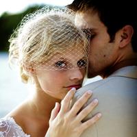 Veils, Vintage Wedding Dresses, Beach Wedding Dresses, Fashion, Beach, Summer, Vintage, Bride, Groom, Veil, Ocean, Water, Birdcage, Lake, Blusher, Hannahelaine photography, Summer Wedding Dresses